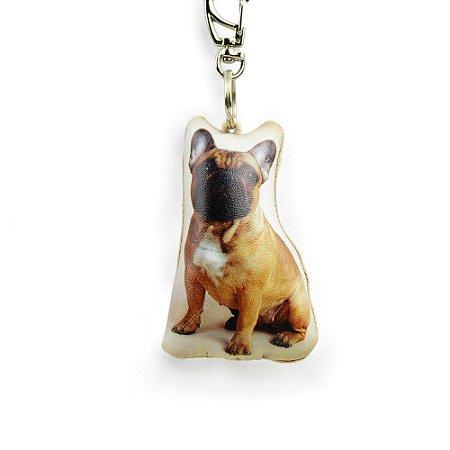 Chaveiro Cachorro Bulldog Francês