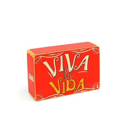 Quadro Box Viva La Vida 10x15