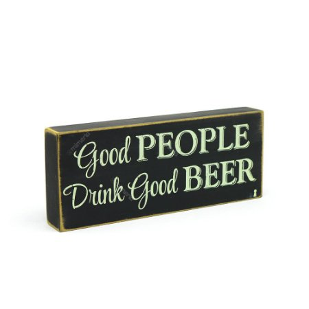 Quadro Box Good People Drink 12x30