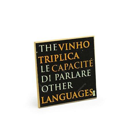 Imã Porta Copo The Vinho Triplica