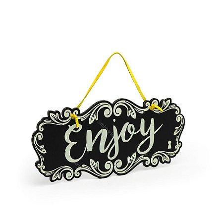 Placa de Porta Enjoy