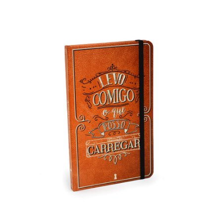 Caderno Criativo Com Elástico Levo Comigo