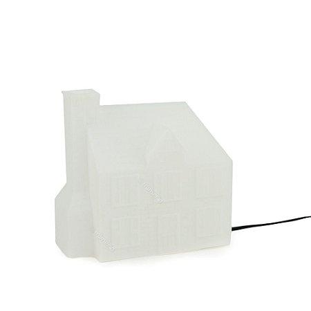 Luminária Casinha Branca