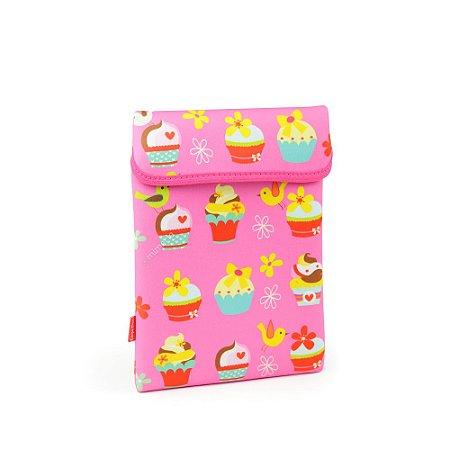 Case para Tablet Cupcake