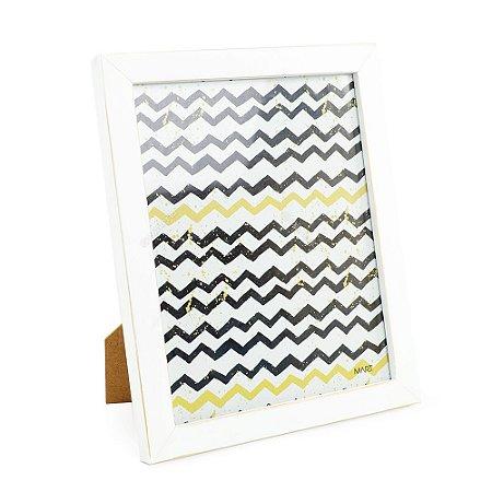 Porta Retrato em Madeira Branco 20x25