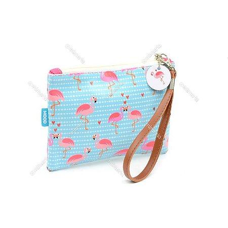 Necessaire Flat Flamingo