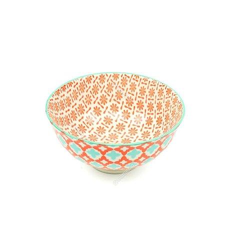 Bowl de Cerâmica Pequeno Marroquino Coral