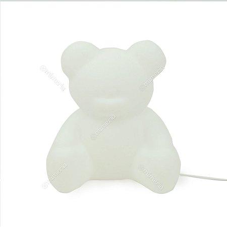 Luminária Ursinho Branco
