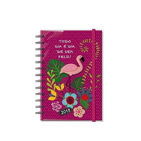 Agenda Semanal Flamingo Pequena 2019