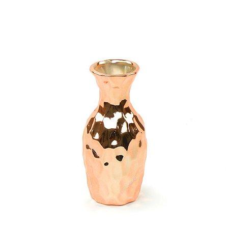 Vaso em Cerâmica Médio Cobre