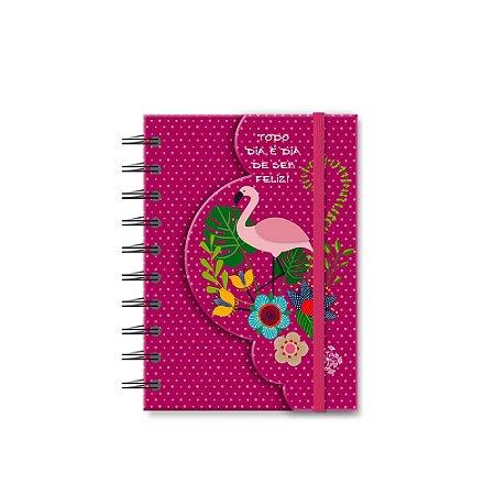 Caderneta Recortada Flamingo