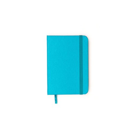 Caderneta sem Pauta Azul Claro Pequena