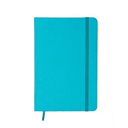 Caderneta sem Pauta Azul Claro Média