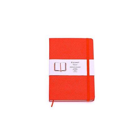 Caderneta sem Pauta Laranja Pequena