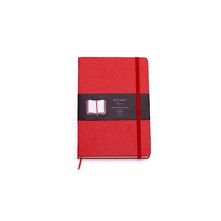 Caderneta sem Pauta Vermelha Pequena