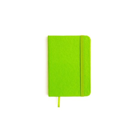 Caderneta sem Pauta Verde Pequena