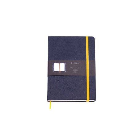 Caderneta sem Pauta Azul Marinho Pequena