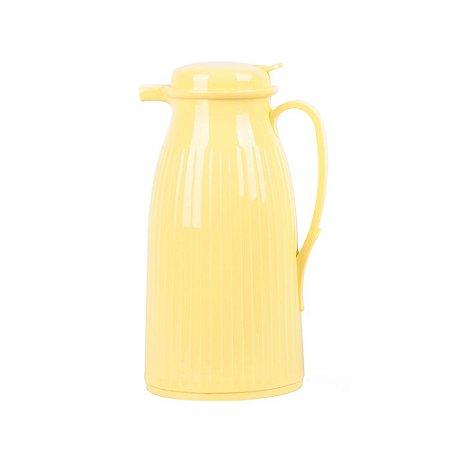 Garrafa Térmica Retrô Amarela Candy
