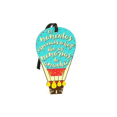 Plaquinha Tag Balão Memórias