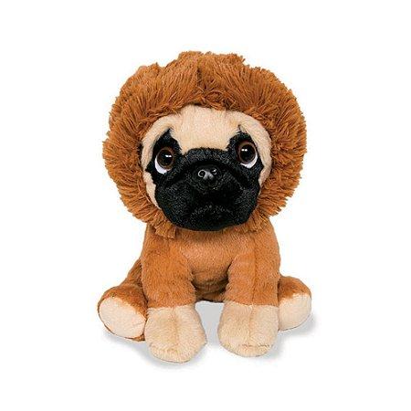 Cachorro Pug de Pelúcia Leãozinho
