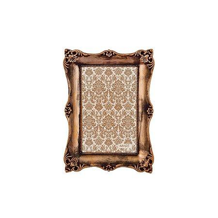 Porta Retrato Antique Cobre Antigo 10x15