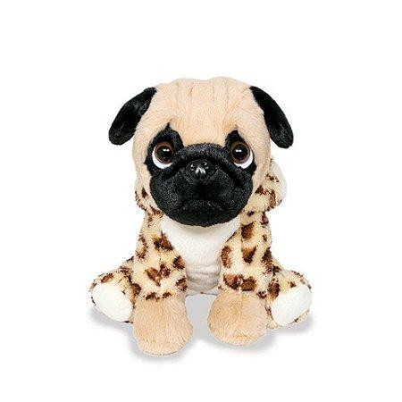 Cachorro Pug de Pelúcia Oncinha
