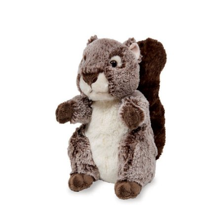 Esquilo de Pelúcia Esquilinho Tico Marrom