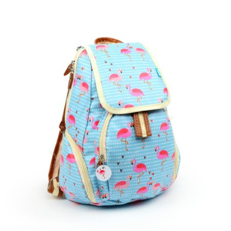 Mochila Pocket Flamingo