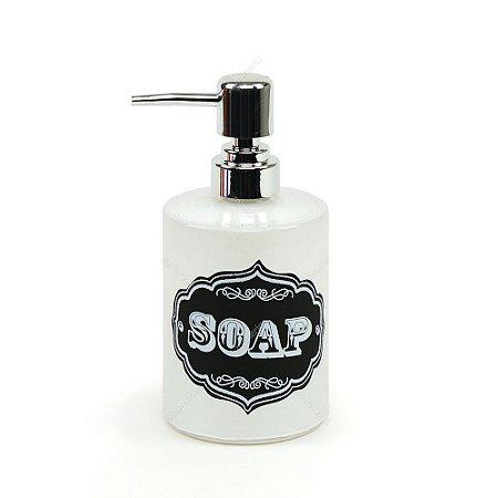 Porta Sabonete Líquido de Vidro Soap