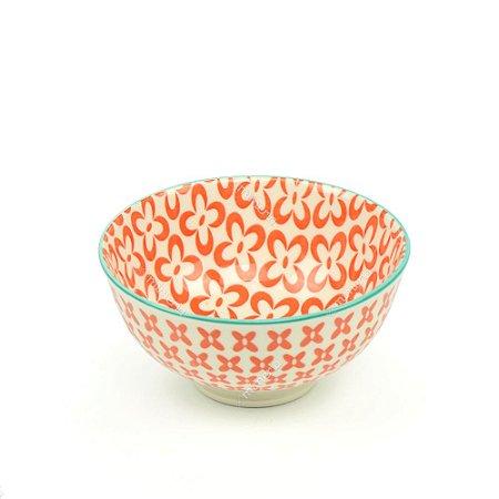 Bowl de Cerâmica Pequeno Florada Coral