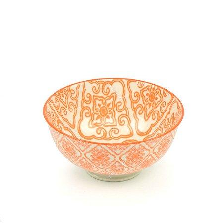 Bowl de Cerâmica Pequeno Azulejo Laranja