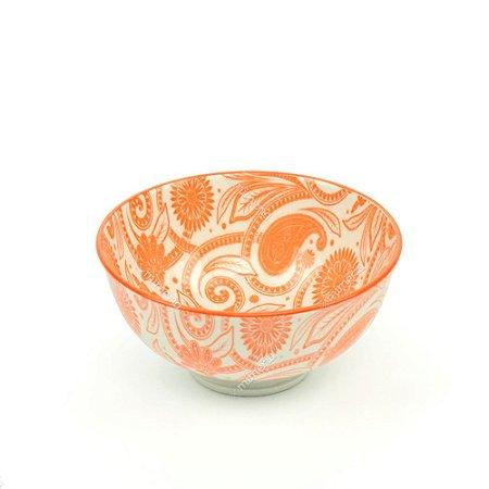 Bowl de Cerâmica Pequeno Laranja
