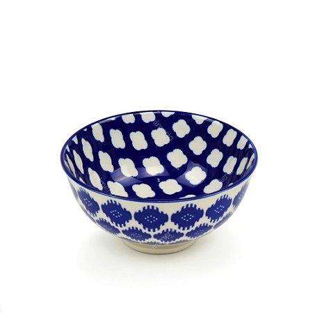 Bowl de Cerâmica Pequeno Sonhos Azul