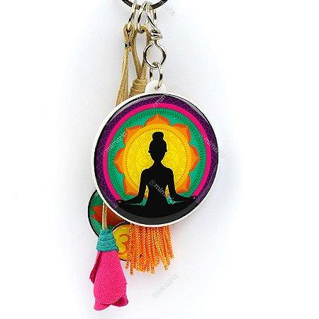 Chaveiro Yoga