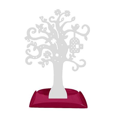 Porta Joias Árvore Branco