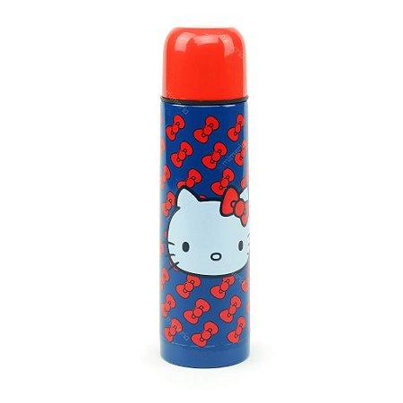 Garrafa Térmica Hello Kitty Laços Vermelhos