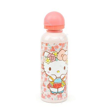 Squeeze de Alumínio Hello Kitty Rosa