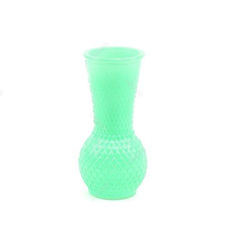 Vaso em Vidro Verde Médio