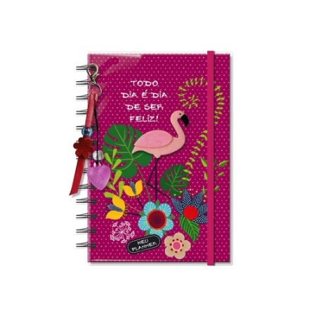 Planner Permanente Flamingo Pequeno