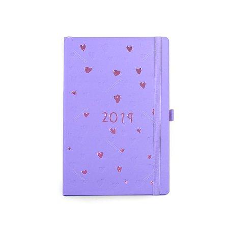 Agenda Semanal Romantic Lilás 2019