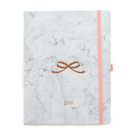 Agenda Semanal Pink Stone Laço 2019