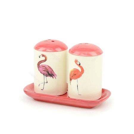 Galeteiro em Cerâmica Flamingo