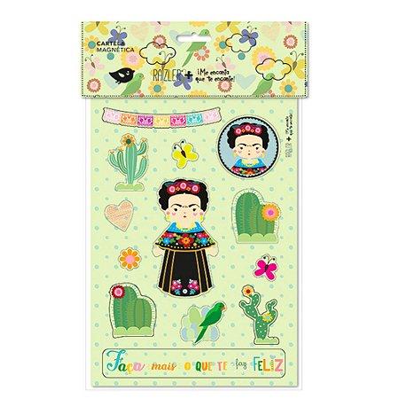 Cartela Magnética Frida Color