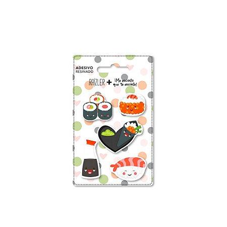Adesivo Resinado Sushi