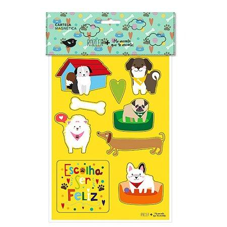 Cartela Magnética Cachorros
