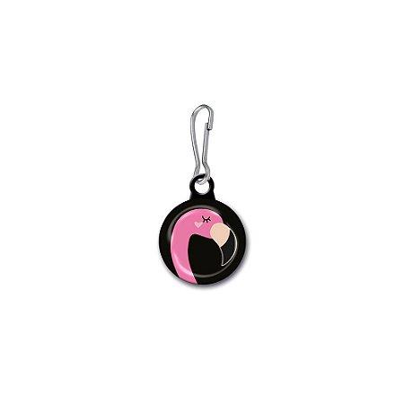 Button para Zíper Flamingo Celebre a Vida