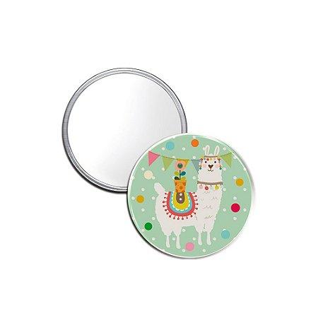 Espelho Pocket Lhama