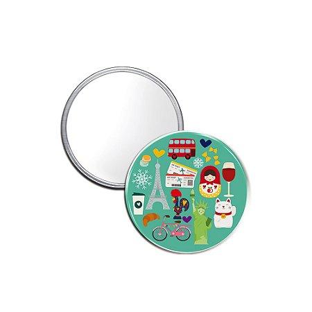 Espelho Pocket Viagem