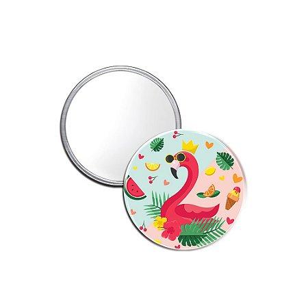 Espelho Pocket Sweet Flamingos Óculos Escuro