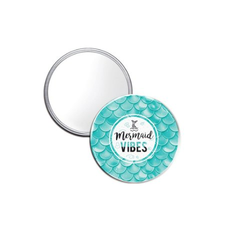 Espelho Pocket Mermaid Vibes